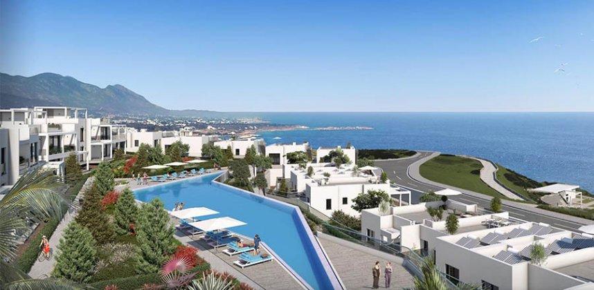 Vilos ir Apartamentai komplekse Banga – Kipras