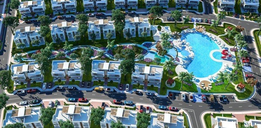 """Kompleksas """"Prie jūros"""" – Vilos, Loftai ir Apartamentai Kipre"""