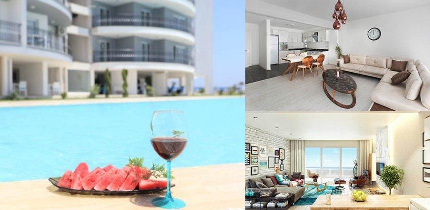 """Viešbutis-apartamentai Šiaurės Kipre – """"Gėlytė"""""""