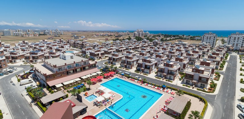 Karališkoji Saulės Rezindencija nauji apartamentai Kipre