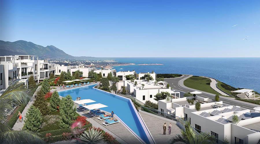 VIP Apartamentai ir Vilos Kyrenijoje Kipre